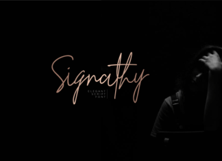 Signathy Font