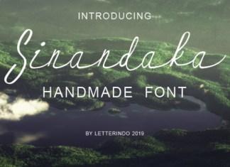 Sinandaka Font