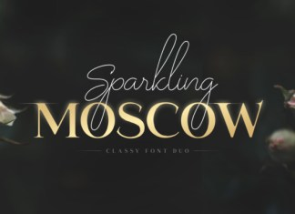 Sparkling Moscow Font