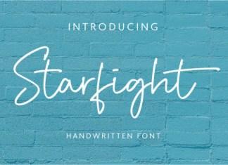 Starfight Font