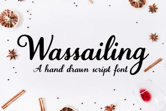 Wassailing Font