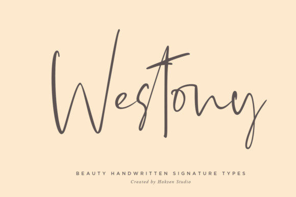 Westony Font