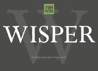 Wisper Font