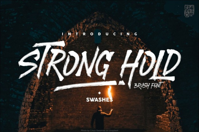 STRONGHOLD Font