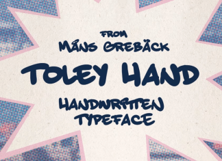 Toley Hand Font