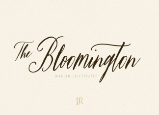The Bloomington Font