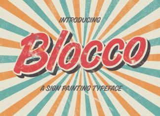 Blocco Font