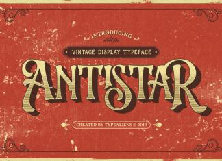 Antistar Font