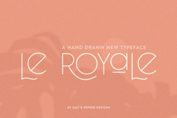 Le Royale Font