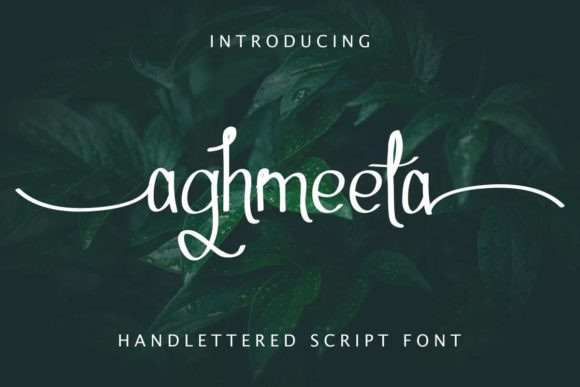 Aghmeeta Font