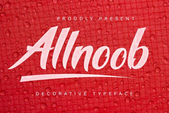 Allnoob Font