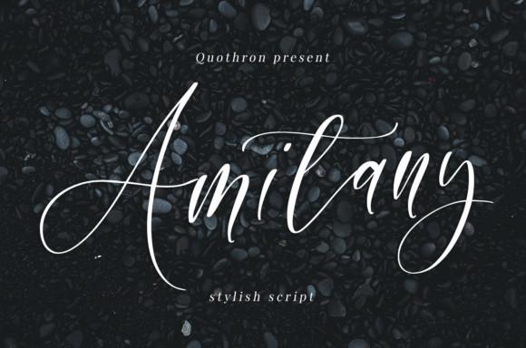 Amitany Font
