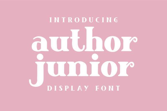 Author Junior Font