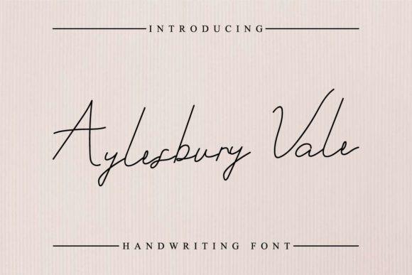 Aylesbury Vale Font