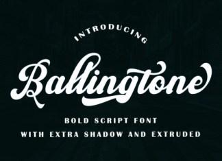 Ballingtone Font