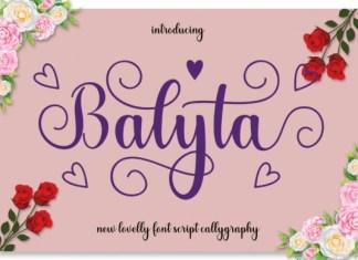Balyta Font