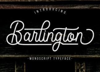 Barlington Font