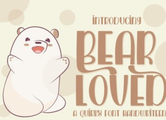Bear Loved Font