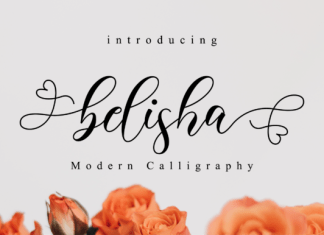 Belisha Font