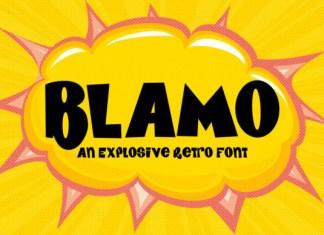 Blamo Font