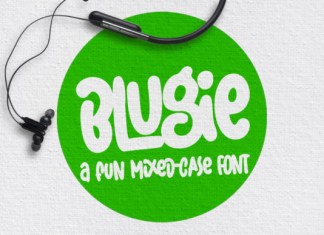Blugie Font