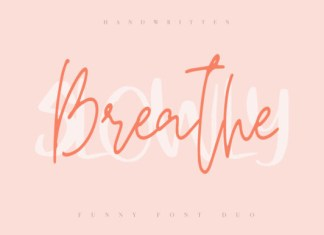 Breathe Slowly Font