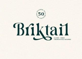 Briktail Font