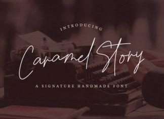 Caramel Story Font