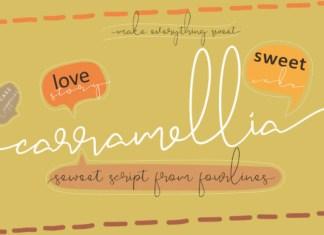 Carramellia Font