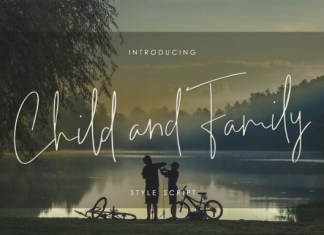 Child and Family Font