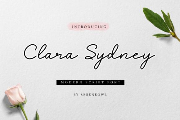 Clara Sydney Font