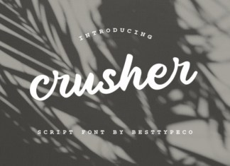 Crusher Font
