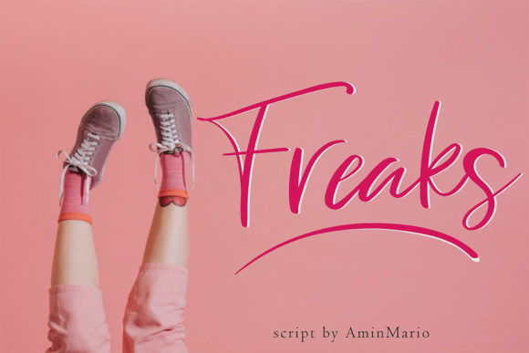 Freaks Font