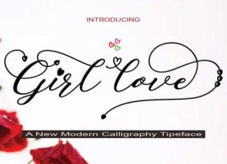 Girl Love Font