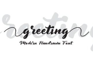 Greeting Font