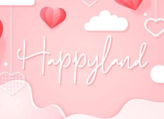 Happyland Font
