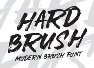 Hardbrush Font