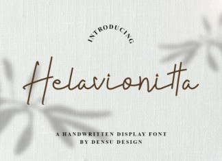 Helavionitta Font