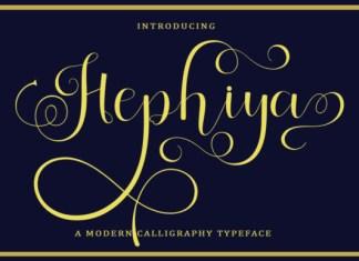Hephiya Font