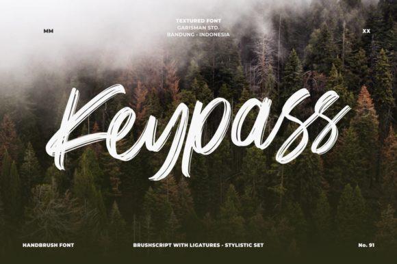 Keypass Font