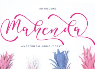 Mahenda Font