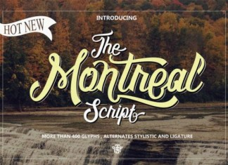 Montreal Font