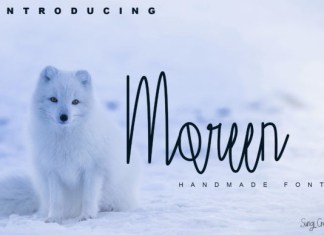 Moreen Font