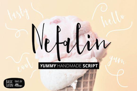 Nefalin Yummy Font
