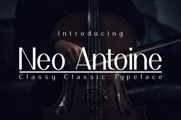 Neo Antoine Font