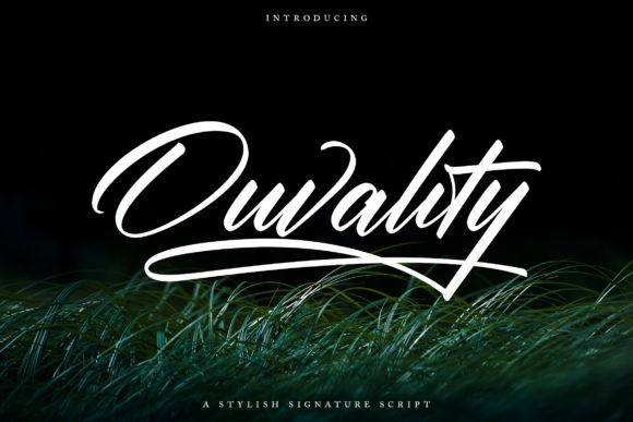 Ouvality Font