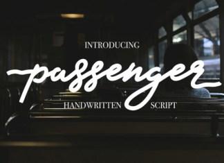 Passenger Font
