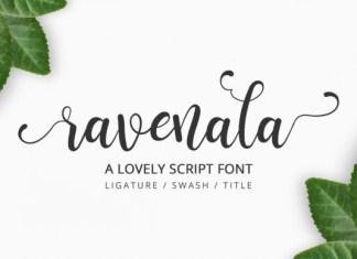 Ravenala Font
