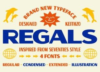 Regals Font