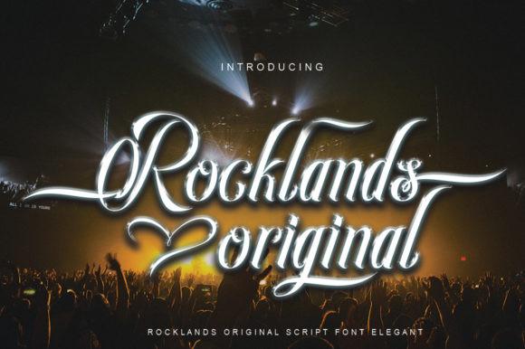 Rocklands Original Font